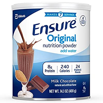 Ensure Original Nutrition Powder with 8 Grams of Protein, Meal Replacement