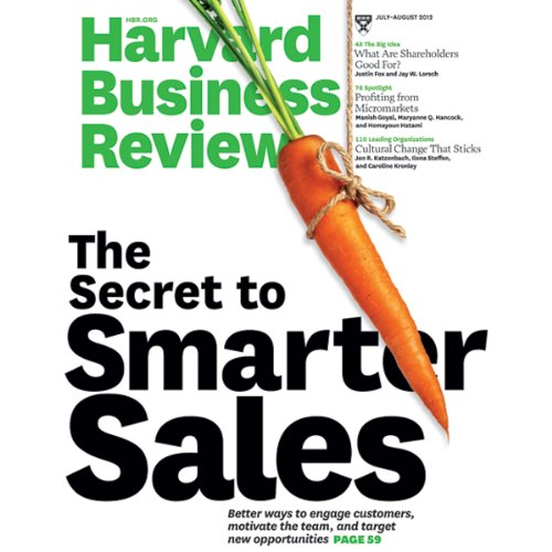 Harvard Business Review, July/August 2012 cover art