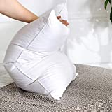 """White goose feather down pillows with 100 % cotton cover to provide the perfect night s rest for anyone and everyone Filling :- 60 % White Goose Feather, 40% White Goose Down Size and Package :- One Standard size pillow (21"""" x 36"""") with 1 Pillow Cove..."""