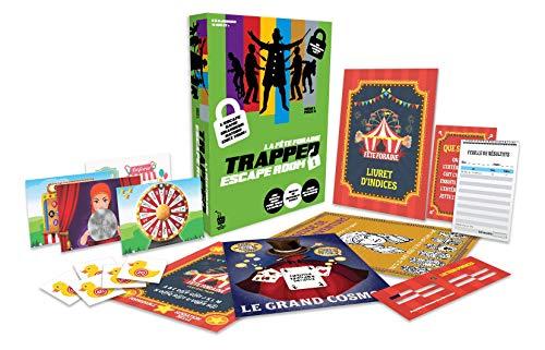 Dujardin- Trapped-La fête foraine (Niveau Facile) -L'ESCAPE Game Grandeur Nature chez Vous, 41325, Multicolore
