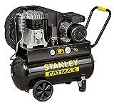 Compressore a Olio Trasmissione a Cinghia Monostadio 50L 2Hp Stanley B 255/10/50 Professionale