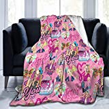 Star Heaven Joj-o Perfect Siw-a Blanket Super Soft Fuzzy Light Weight for Bed Couch Chair All Seasons Adults Kids Blanket,60'X50'(Throw)