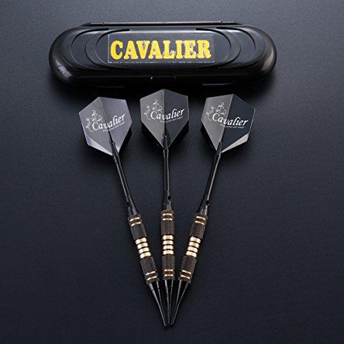 Dartpfeile soft dartpfeile 3 Stück 18 g Dartset Turnier soft Tip Dartpfeile Set, Schwarz Beschichtete Metallfässer Darts (Soft Dartpfeile) mit Flights