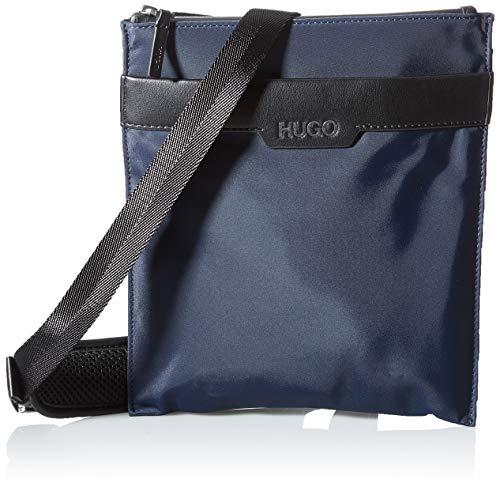 HUGO Herren Luxown_S z env Crossbody Bag, Navy410, ONESI