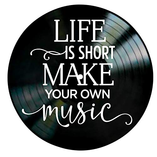 Music Quote Wall Decor