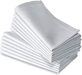 JUWENIN Cotton Dinner Napkins 24 Pack (20 inches x20inches) Soft & Comfortable - Durable Hotel Quality - Ideal for Events ...