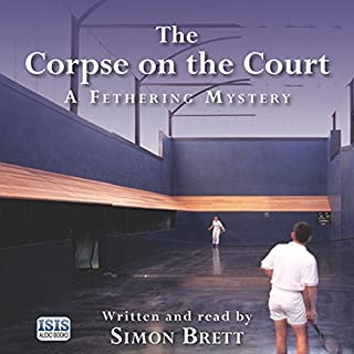 The Corpse on the Court audiobook cover art