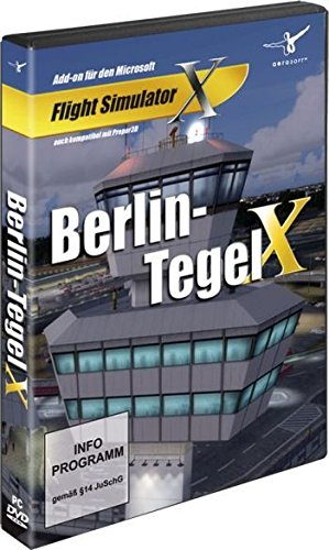 Berlin Tegel X (FS X Add-On) (PC DVD)