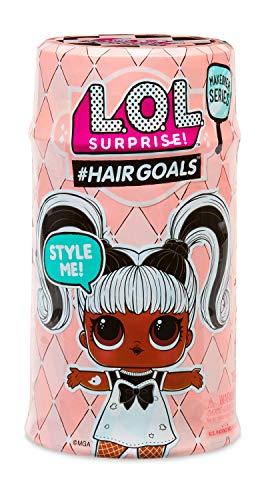 MGA Entertainment 556220E7C L.O.L. Surprise Hair Goals, Püppchen mit frisierbaren Haaren und Accessoire, Sortiert, Mehrfarbig