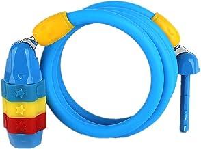Steel Cable Lock/Helm Lock/Anti-Diefstal Vaste Kind Fietsvergrendeling Wachtwoord Lock/Elektrische Auto Lock-blauw
