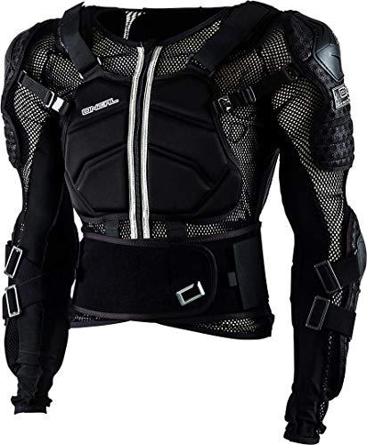 O\'NEAL | Protektoren-Jacke | Motocross Enduro ATV | Verstellbare Stretchbänder, Hochschlagfestes IPX®-Material, Mesh-Paneele zur Kühlung | Underdog Protector Jacke | Erwachsene | Schwarz | Größe XL
