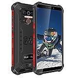 OUKITEL WP5 Rugged Cell Phones, Unlocked Android 10, Smartphone 8000mAh Battery, Triple Camera 4 LED Flashlights 4GB+32GB, Black
