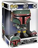 Funko Pop! Star Wars 40th Anniversary The Empire Strikes Back #367 - Boba Fett [10 Inch] Exclusive...