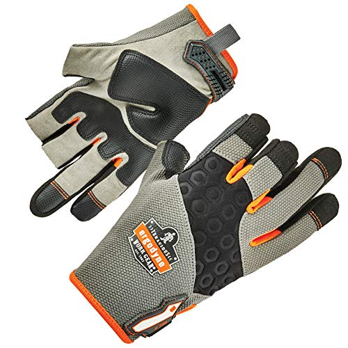 ProFlex 720 Framer Work Glove, High Dexterity, Padded Palm, Small