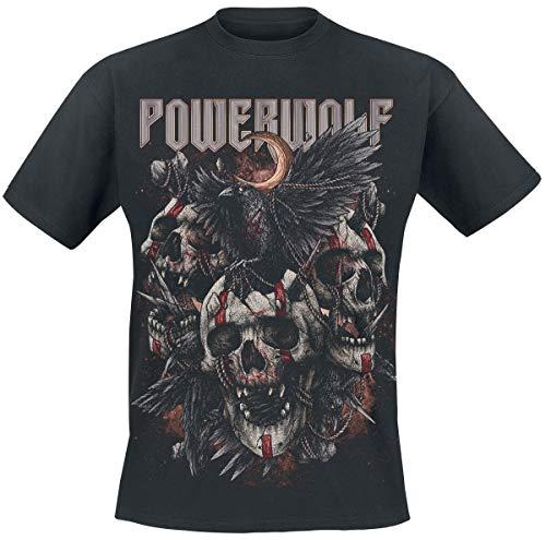 Powerwolf Dead Boys Don't Cry Männer T-Shirt schwarz M 100% Baumwolle Band-Merch, Bands