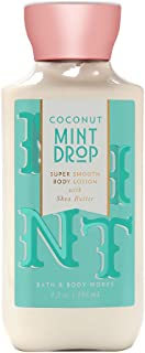 bath and body works coconut mint drop body spray