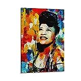jingsheng Ella Fitzgerald Poster, dekoratives Gemälde,
