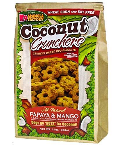 K9 Granola Factory Papaya and Mango Coconut Crunchers (Pack of 3)