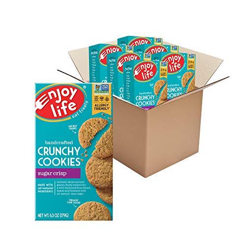 Enjoy Life Foods Foods Crunchy Sugar Crisp Cookies, 6 Boxes