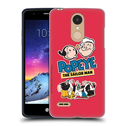 Head Case Designs Officially Licensed Popeye Group Collage Hard Back Case Compatible with LG K8 / K9 (2018)