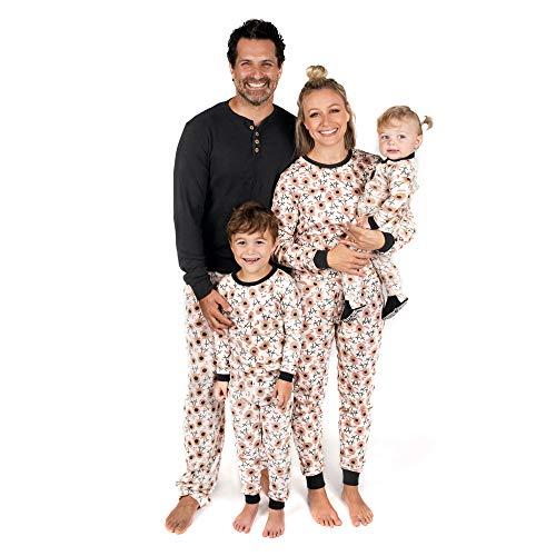 Burt's Bees Baby, Family Jammies, Matching Holiday Pajamas, Organic Cotton PJs, Reindeer, Toddler & Kids, 2T