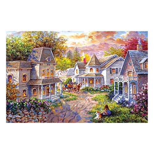 Huyiko - Puzzle de madera para decoración del hogar (1000 piezas)