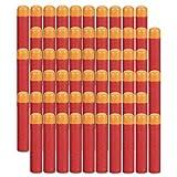 HONGCI 9.5cm Rouge Mousse Recharge Doux Fléchettes Balle pour Arme-Jouet Nerf...