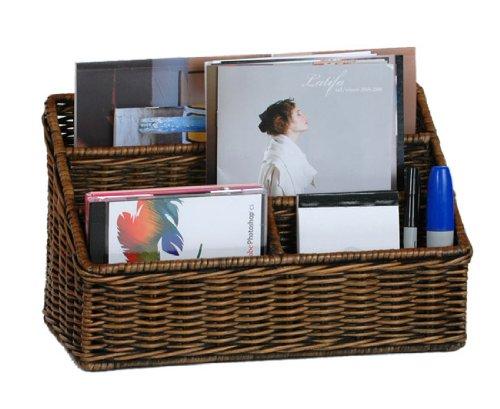 wicker file basket - 7