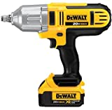 DEWALT 20V MAX Impact Wrench, High Torque, Hog Ring Anvil, 1/2-Inch (DCF889HM2)