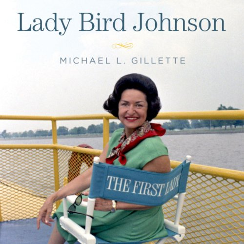 Lady Bird Johnson audiobook cover art