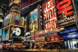 Times Square Theater District 24'x36' Art Print Poster