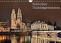 Schweizer Nachtimpressionen (Wandkalender 2022 DIN A4 quer): Fotos aus der naechtlichen Schweiz (Monatskalender, 14 Seiten )