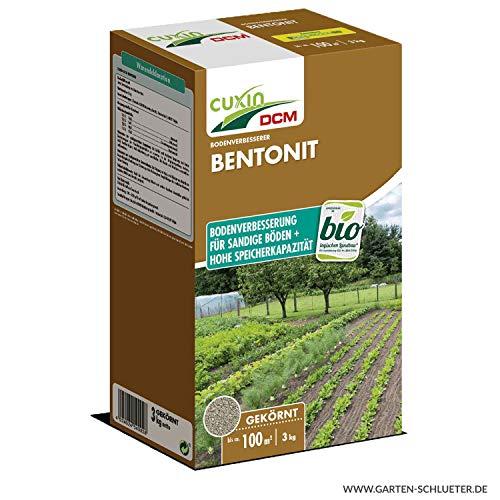 Cuxin Bentonit Pulver 3 kg - Bodenverbesserer