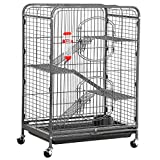 Topeakmart 4 Levels Ferret Cages and Habitats Small Animal Hutch for...