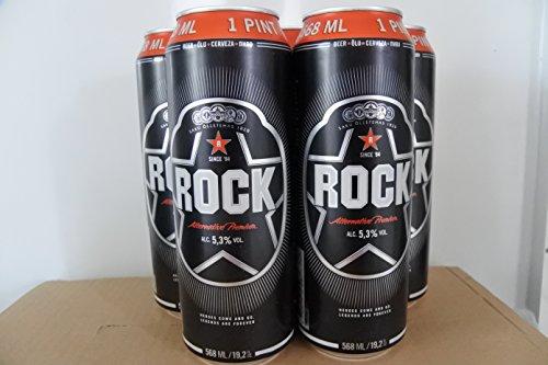 Saku Rock Bier aus Estland als 1 Pint 0,568l Dose, 5,3% Vol.Alk. Probierpaket mit 5 Dosen