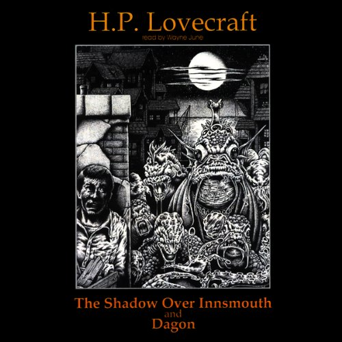 The Shadow Over Innsmouth and Dagon cover art