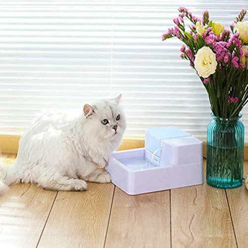 Futterautomat Pet automatischer Zirkulationstyp Sauerstoff Trinkvorrichtung elektrische Trinkwasserflasche Brunnen Haustier Wasserspender Katze, Hund, Nizza aquarium