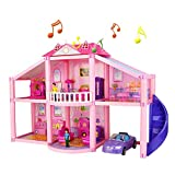 Doll Cottage Puppenhaus für Mädchen und Jungen ab 3 Jahren Kinder Spielzeug