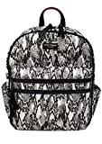 Betsey Johnson Nylon Gone Wild Backpack, Black/White