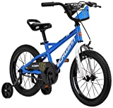 Schwinn Koen Boys Bike for Toddlers and Kids, 12-Inch Balance Bike, Blue