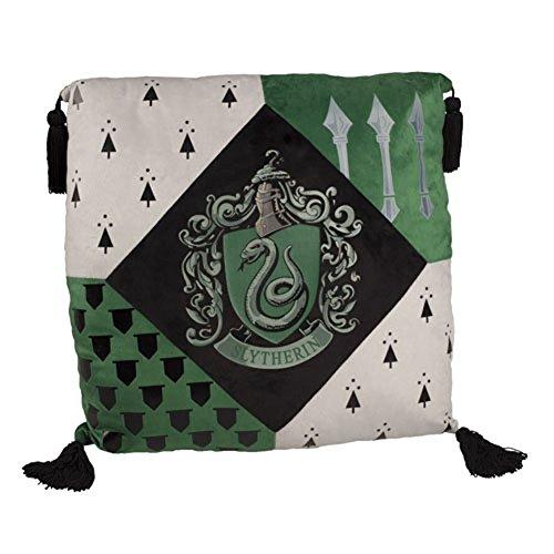 Harry Potter Slytherine casa cuscino Merchandise ufficiale Warner Bros. studio Tour London
