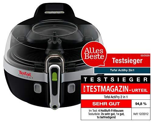 Tefal ActiFry YV9601 2in1 Heißluft-Fritteuse (1,5 kg Fassungsvermögen, 1.400 Watt, inkl. Rezeptbuch) - 2