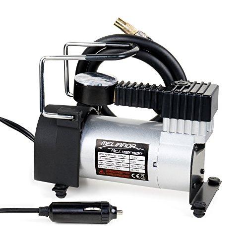 MELIANDA MA-8500 12V Auto Kompressor Zigarettenanzünder, 85W Leistung inkl Tragetasche