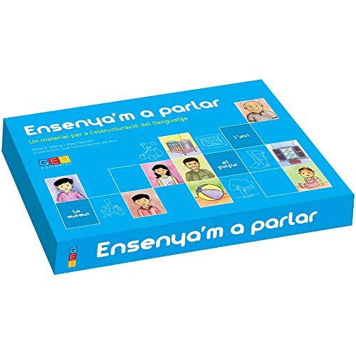 Ensenya´m a parlar: desenvolupament i estructuració del llenguatge Preescolar i Educació Primària Catalá Editorial GEU (3 a 12 años)