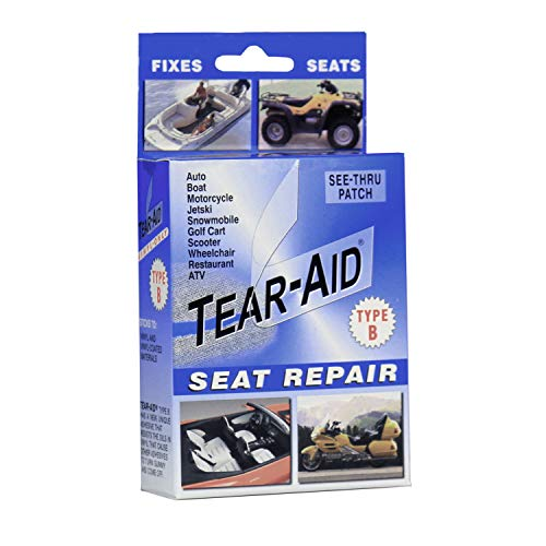 TEAR-AID Vinyl Seat Repair Kit, Blue Box Type B, Single