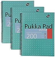 PUKKA JOTTA METALLIC A4 WRIT PAD 80GSM