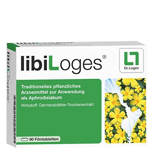 libiLoges - Pflanzliches Aphrodisiakum bei sexueller Unlust - 90 Tabletten, Zur Stärkung der Libido und des sexuellen Verlangens