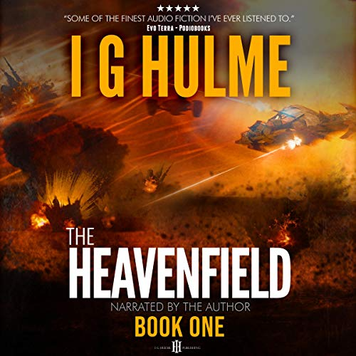The Heavenfield Audiobook By I G Hulme cover art