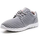 Alpine Swiss Kilian Fashion Sneakers Lightweight Trainers Lace Up Casual Shoes, 10 D(M) US, Gray