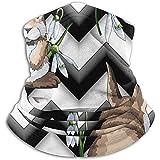 Bklzzjc Handgezeichnete Ostern Nackenwärmer - Halsmanschette Tube, Ohrenwärmer Stirnband & Gesichtsmaske.